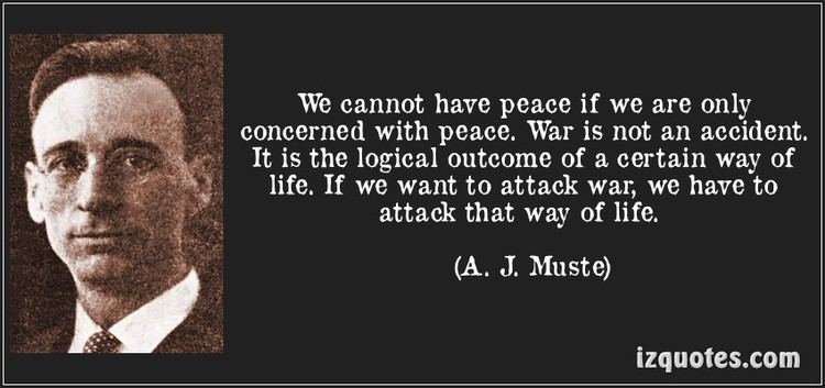 A. J. Muste This Day in Resistance History Hope College graduate AJ