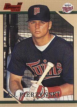 A. J. Pierzynski AJ Pierzynski Baseball Rookie Card