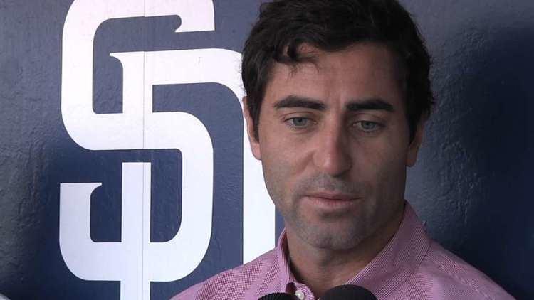 A. J. Preller Padres GM AJ Preller breaks down early plans for