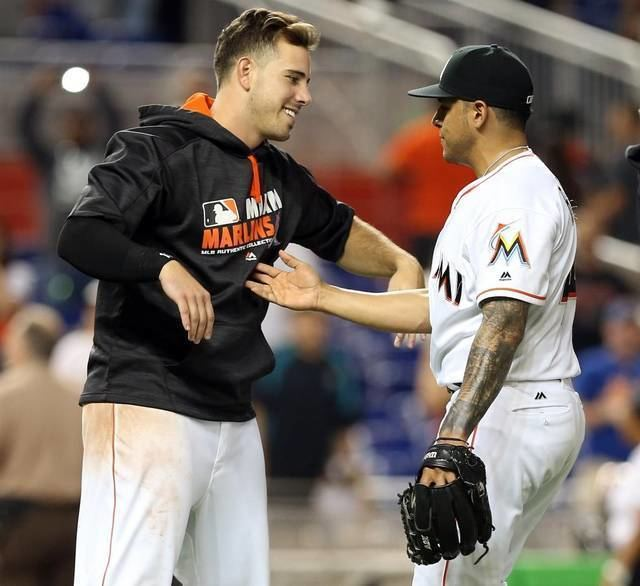 A. J. Ramos Marlins pitchers and catchers report to spring training Tuesday and