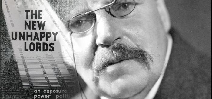 A. K. Chesterton A Lesson in Whitewashing The AntiSemitism of AK