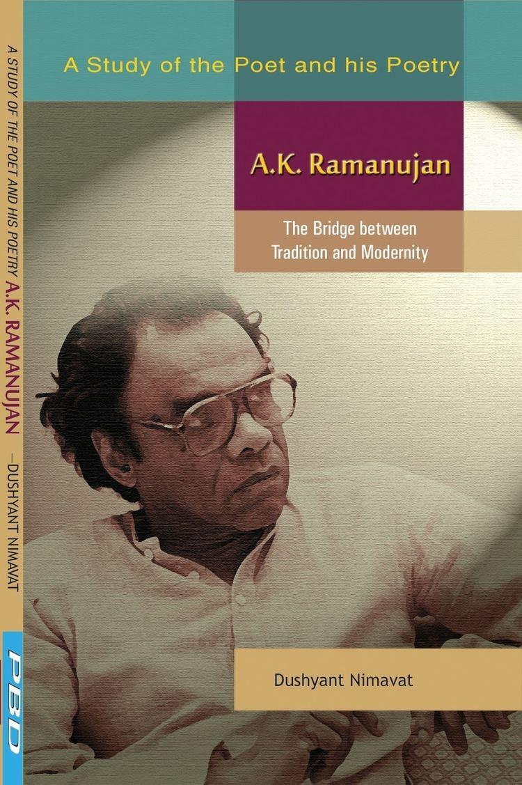 A. K. Ramanujan Prakash Book Depot Bareilly Views and News AK RAMANUJAN The