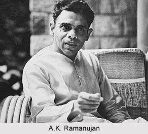 A. K. Ramanujan Ramanujan Indian Writer