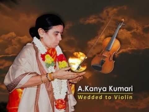 A. Kanyakumari AKANYAKUMARI WEDDED TO VIOLIN TRAILOR YouTube