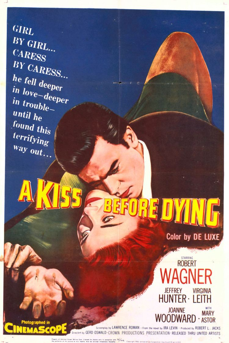A Kiss Before Dying (1956 film) wwwgstaticcomtvthumbmovieposters4878p4878p