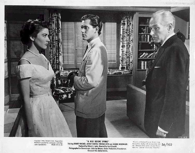A Kiss Before Dying (1956 film) A Kiss Before Dying 1956