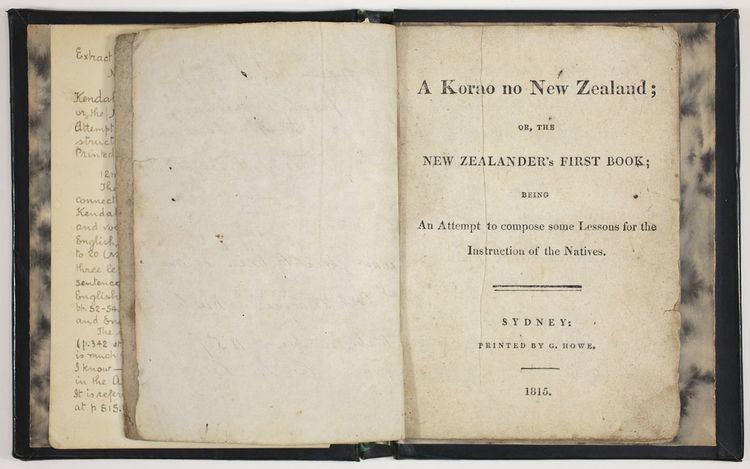 A korao no New Zealand