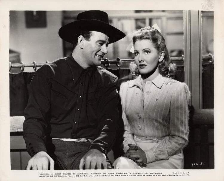 A Lady Takes a Chance A Lady Takes A Chance 1943 The 1940s John Wayne Message Board
