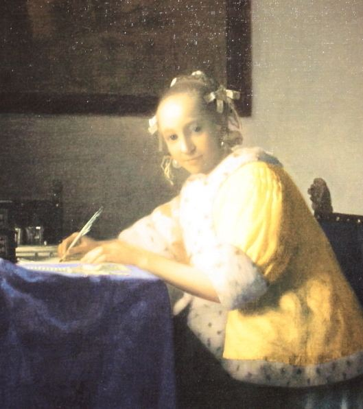 A Lady Writing a Letter Woman Writing A Letter Vermeer 76925 UPSTORE
