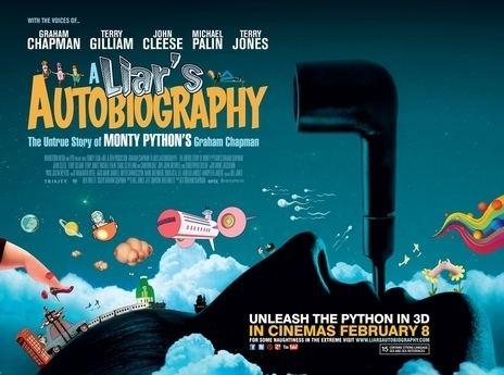 A Liar's Autobiography: The Untrue Story of Monty Python's Graham Chapman EMPIRE CINEMAS Film Synopsis 2D A Liars Autobiography The Untrue