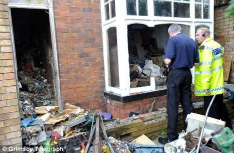 A Life of Grime Pensioner39s life of grime Workmen clear 100 TONS of rubbish from