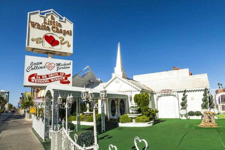 A Little White Wedding Chapel A Little White Wedding Chapel Shopping in Downtown Las Vegas