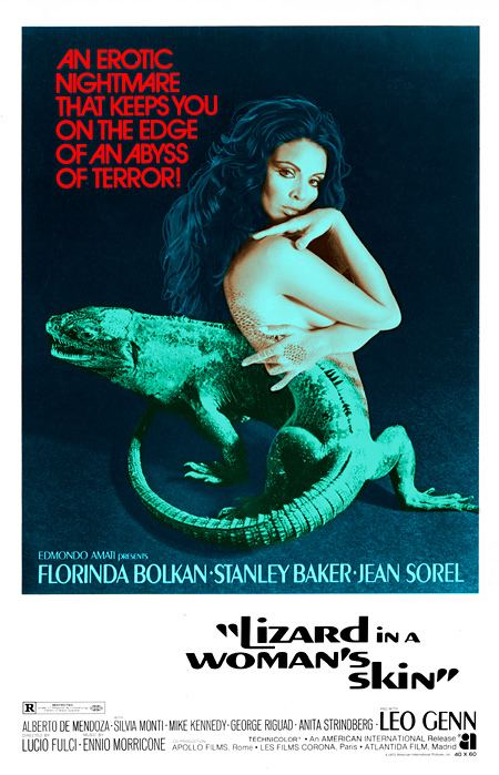 A Lizard in a Woman's Skin A Lizard in a Womans Skin Italy 1971 HORRORPEDIA