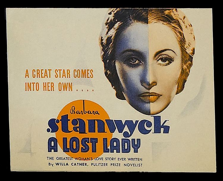 A Lost Lady (film) A Lost Lady 1934