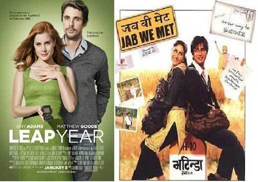 A Love movie scenes Jab We Met Leap year The creators of Leap Year 2010 claim it is not a remake of Jab We Met 2007 but the plot and scenes are way too similar
