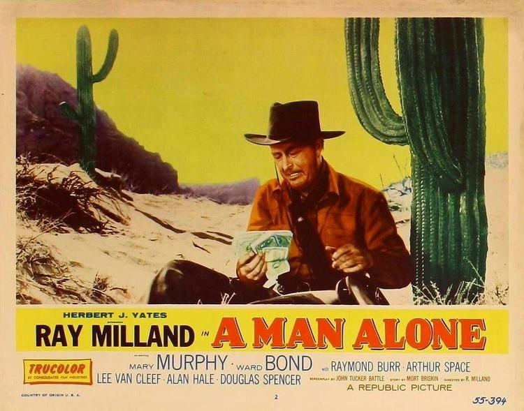 A Man Alone (film) A Man Alone 1955 BMovie BFFs