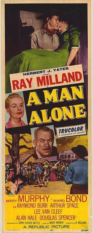 A Man Alone (film) Man Alone movie posters at movie poster warehouse moviepostercom