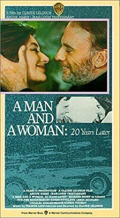 A Man and a Woman: 20 Years Later Amazoncom A Man and a Woman20 Years Later VHS Anouk Aime