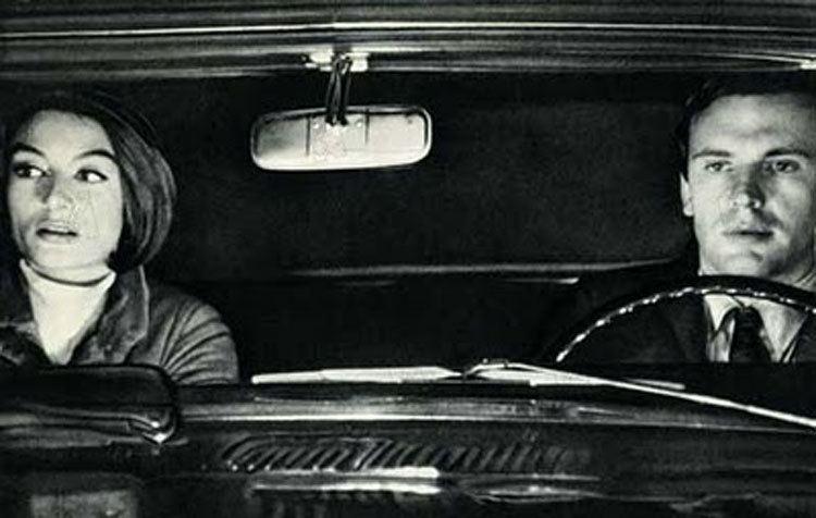 A Man and a Woman Drivers Cinema Un Homme et Une Femme 1966 Petrolicious