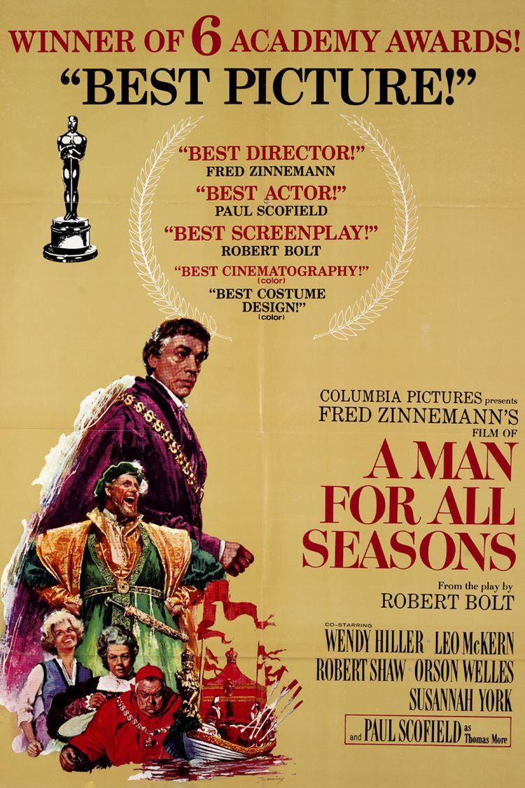 A Man for All Seasons (1966 film) wwwgstaticcomtvthumbmovieposters4397p4397p