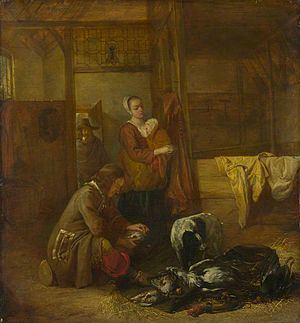 A Man with Dead Birds, and Other Figures, in a Stable httpsuploadwikimediaorgwikipediacommonsthu
