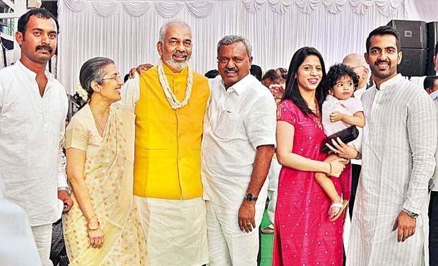A. Manju A Manju mends his ways becomes minister