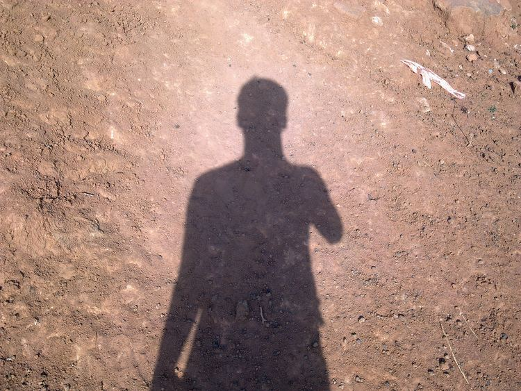 A Man's Shadow A Mans Shadow in bright morning sunlight A Man in morning Flickr