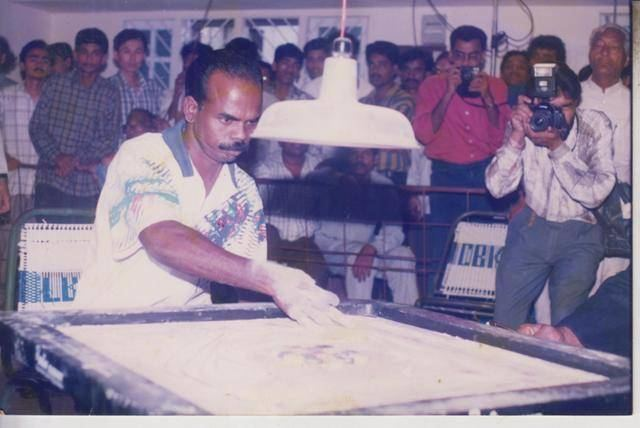 A. Maria Irudayam Carrom champion Maria Irudayam does NOT want his son to follow in