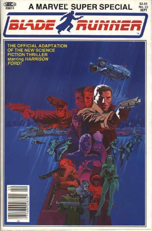 A Marvel Comics Super Special: Blade Runner Blade Runner Comic Book Part 1 All That I Love