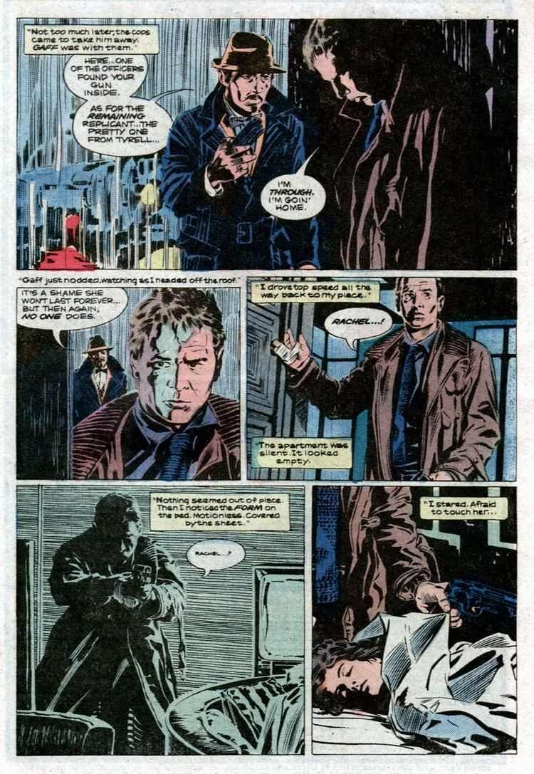 A Marvel Comics Super Special: Blade Runner blade runner All That I Love