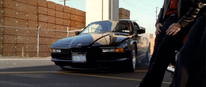 A Match Made in Heaven movie scenes 1997 BMW 840Ci E31 in The Italian Job 2003 movie Handsome Rob Jason Statham arrives on scene in a flashy manner in this feisty BMW