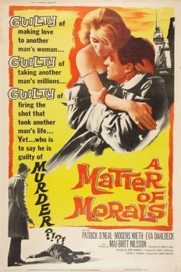 A Matter of Morals movie poster
