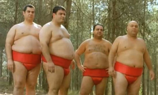 A Matter of Size Jewish Humor Central quotA Matter Of Sizequot Israeli Sumo Comedy Opens