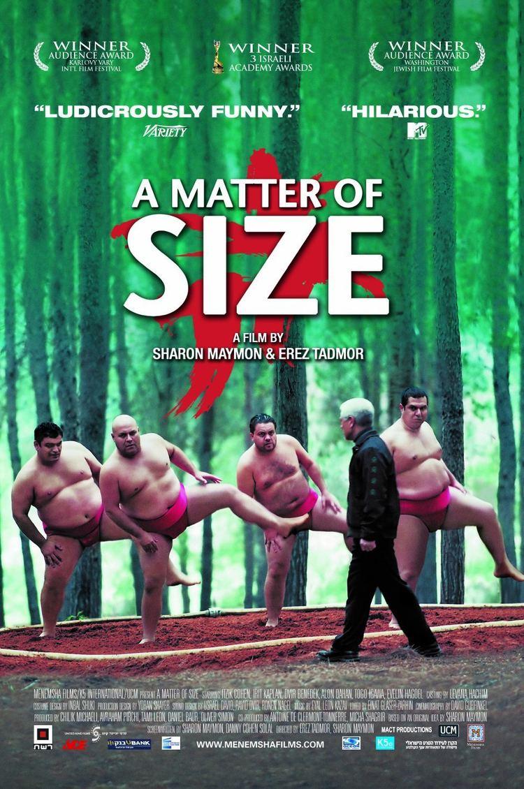 A Matter of Size A Matter of Size DVD Menemsha Films cityonfirecom