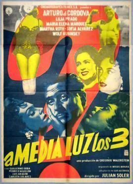 A media luz los tres movie poster