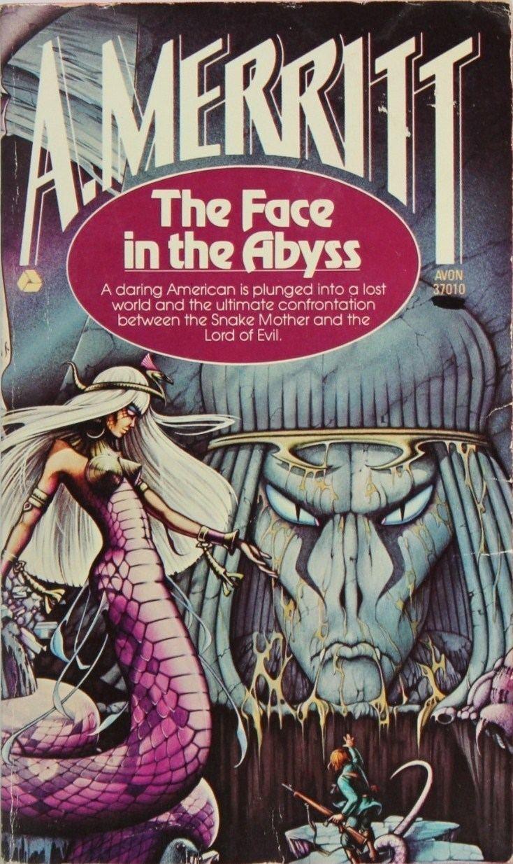 A. Merritt Too Much Horror Fiction The Avon Paperbacks of A Merritt