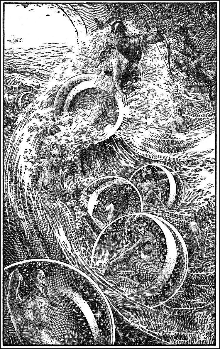 A. Merritt The Golden Age VIRGIL FINLAY amp A MERRITT The Ship of