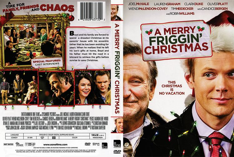 A Merry Friggin' Christmas A Merry Friggin Christmas DVD Cover 2014 R1