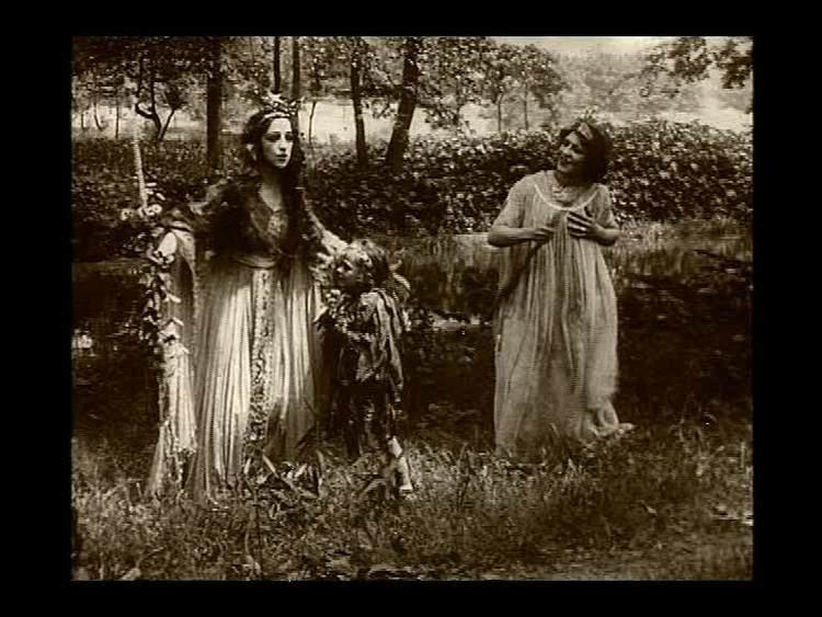 A Midsummer Night's Dream (1909 film) Film Ab Initio 1909 A Midsummer Nights Dream Charles Kent J
