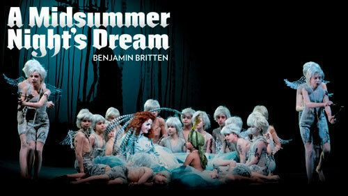 A Midsummer Night's Dream (opera) A Midsummer Night39s Dream opening Lyric Opera Chicago Stage Review