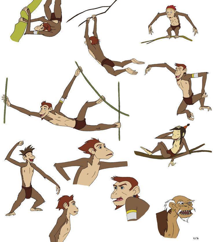 A Monkey's Tale A Monkeys Tale Sketchdump 2 by Kordyne on DeviantArt