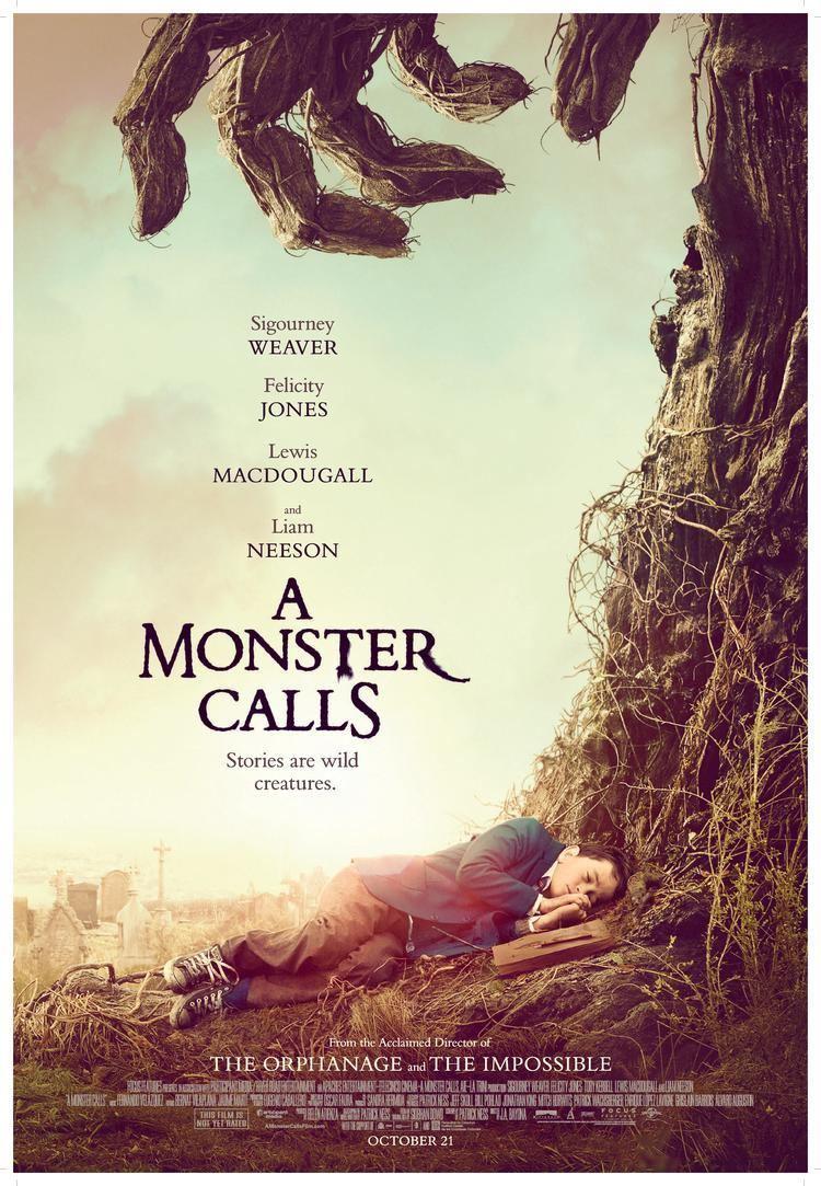 A Monster Calls (film) A MONSTER CALLS Film Reviews Crossfader