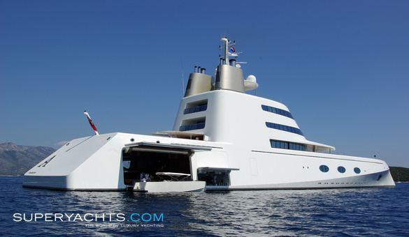 A (motor yacht) Big yachts just get bigger Donkin Life