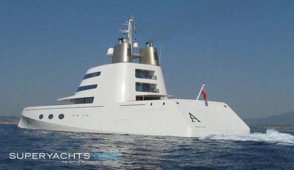 A (motor yacht) A Blohm Voss Shipyards Motor Yacht superyachtscom