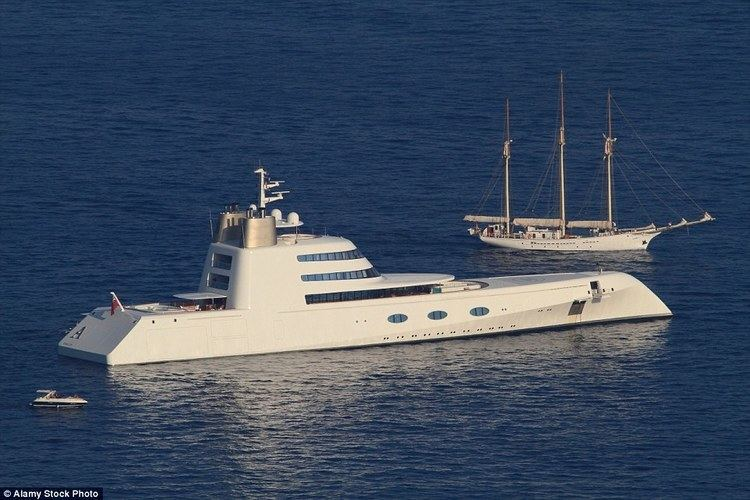 A (motor yacht) Melnichenko puts Motor Yacht A up for sale Daily Mail Online