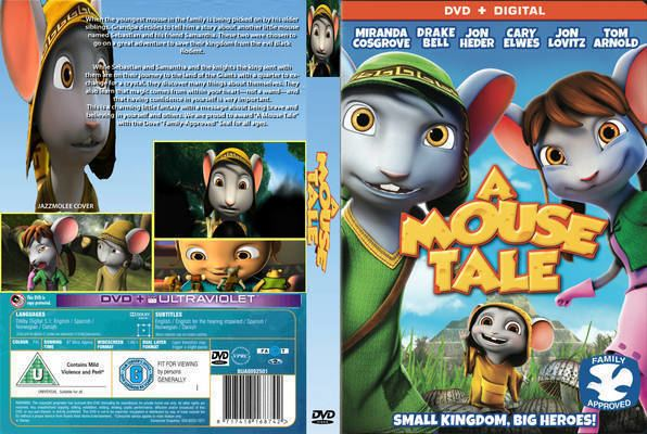 A Mouse Tale A Mouse Tale 2015 DVD Front Cover id98494 Covers Resource