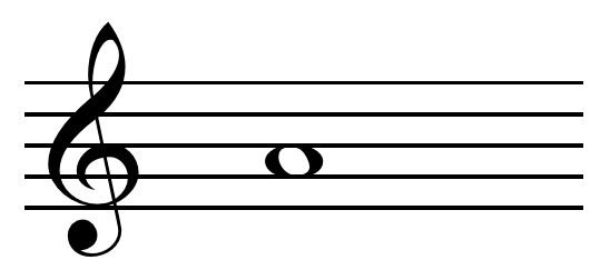 A (musical note)