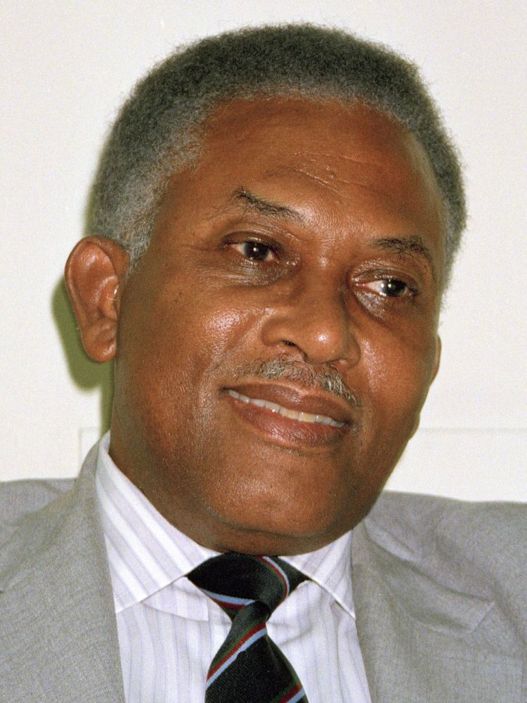 A. N. R. Robinson ANR Robinson Prime Minister of Trinidad and Tobago who survived a