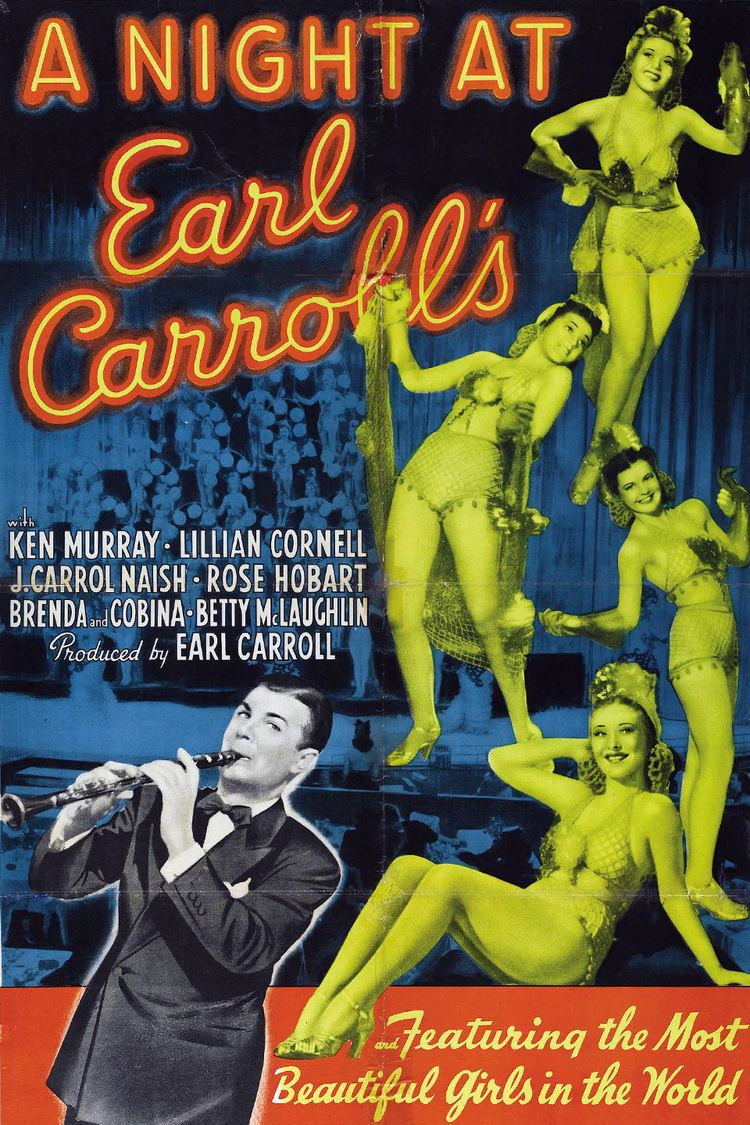 A Night at Earl Carroll's wwwgstaticcomtvthumbmovieposters47126p47126