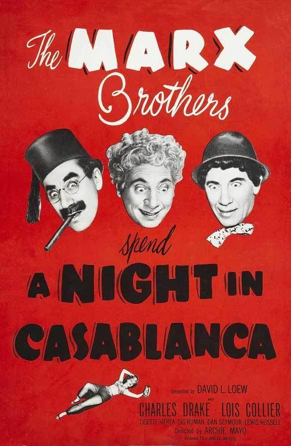 A Night in Casablanca A Night In Casablanca Movie Mania